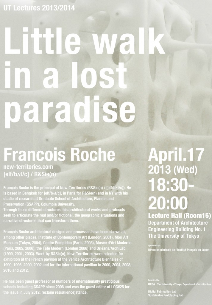 Poster_UT lectures_130417_Francois Roche_draft